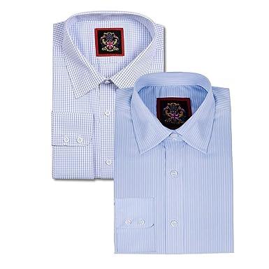d7301b0938 Janeo British Apparel - Camicia Hampton classica, da uomo, a ...