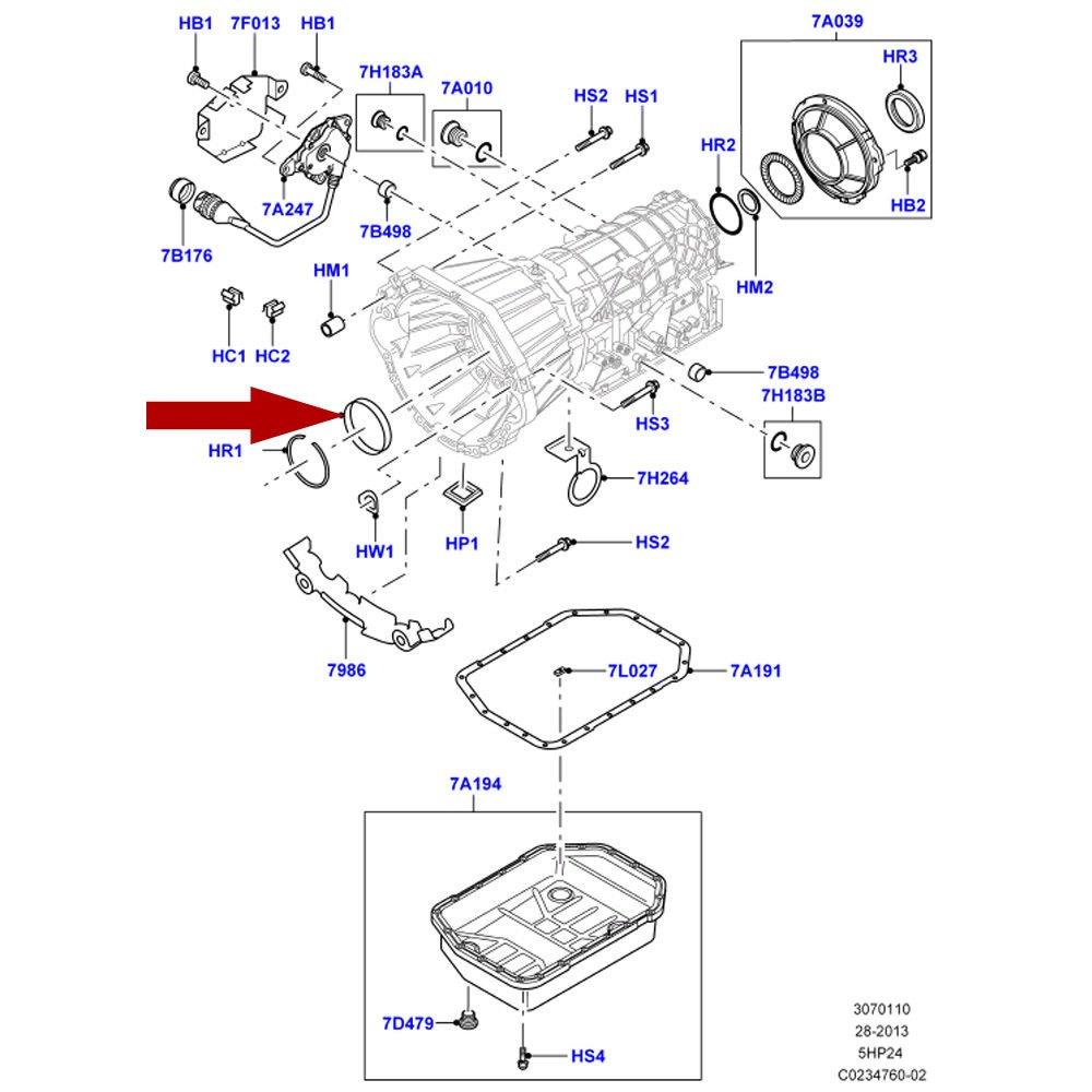 Rover Transmission Diagram