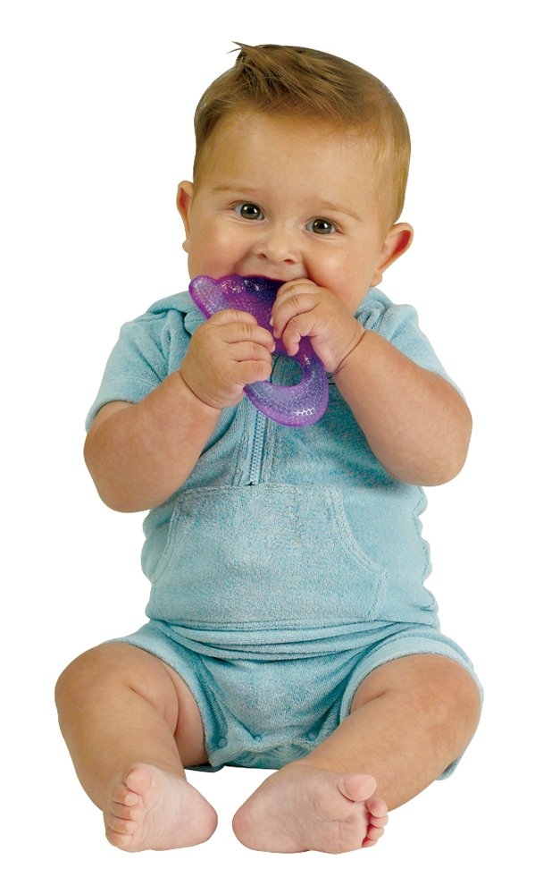 ORDA USA 9111305 Two for Teething Small World Toys IQ Baby Set of 2 teethers