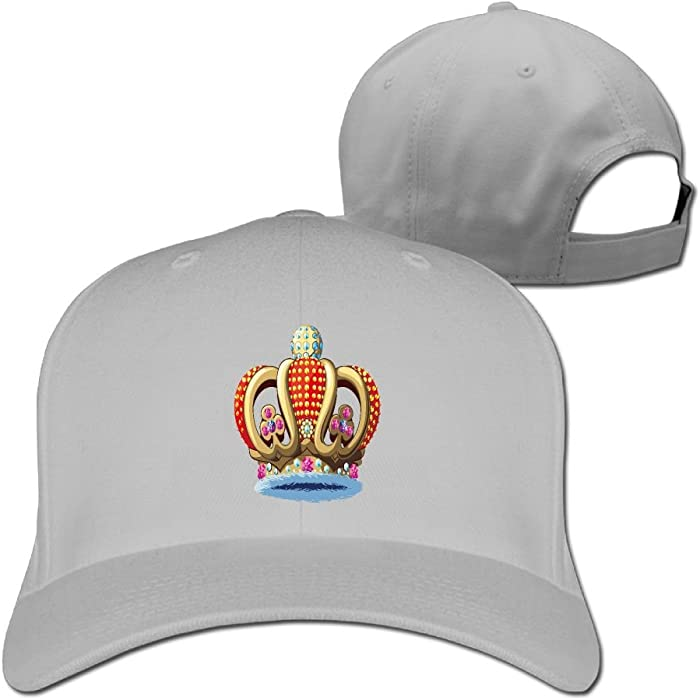 64464bc34a6ba Baseball Caps Royal Family Crown Golf Dad Hat Mans Womens Vintage Snapbacks  Cap Black. Back. Double-tap to zoom