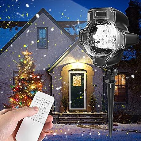 Christmas Projector Lights Blue