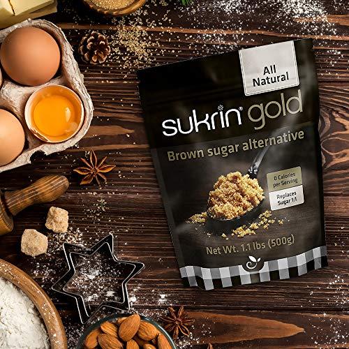 Sukrin Gold - The Natural Brown Sugar Alternative - 1.1 lb Bag by Sukrin (Image #5)