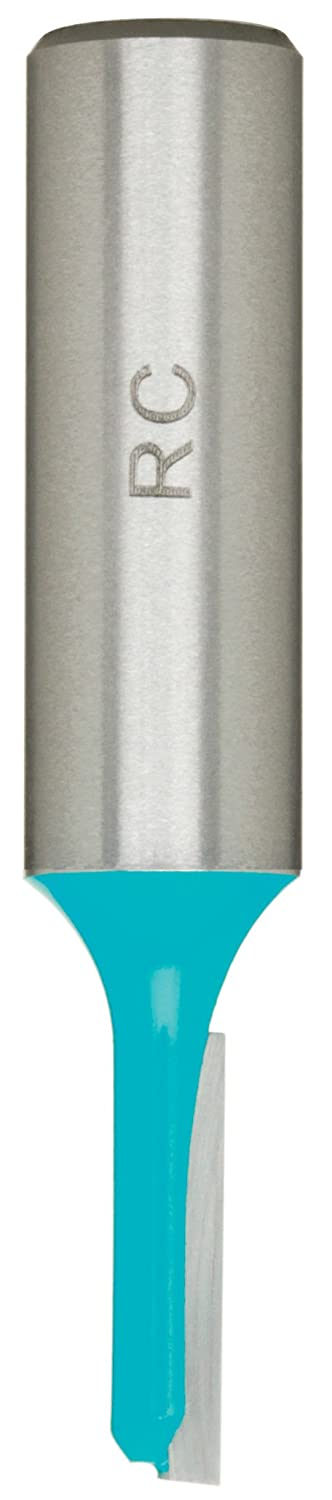 Roman Carbide DC1476 7//32-Inch Single Fluted Straight 1//2-Inch Shank