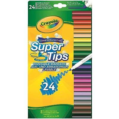 Vivid Imaginations - Set de 24 crayolas supertips, multicolor (58-5057-E-000) , color/modelo surtido