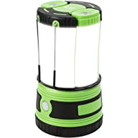 Lepro LED Camping Lantern Rechargeable or Battery Powered, 1000lm Camping Light with Detachable Flashlights Combo…