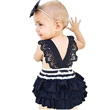 Bodysuits & One-pieces Confident Newborn Baby Girls Boys Stripes Romper Playsuit Summer Casual Clothes Kids Rompers
