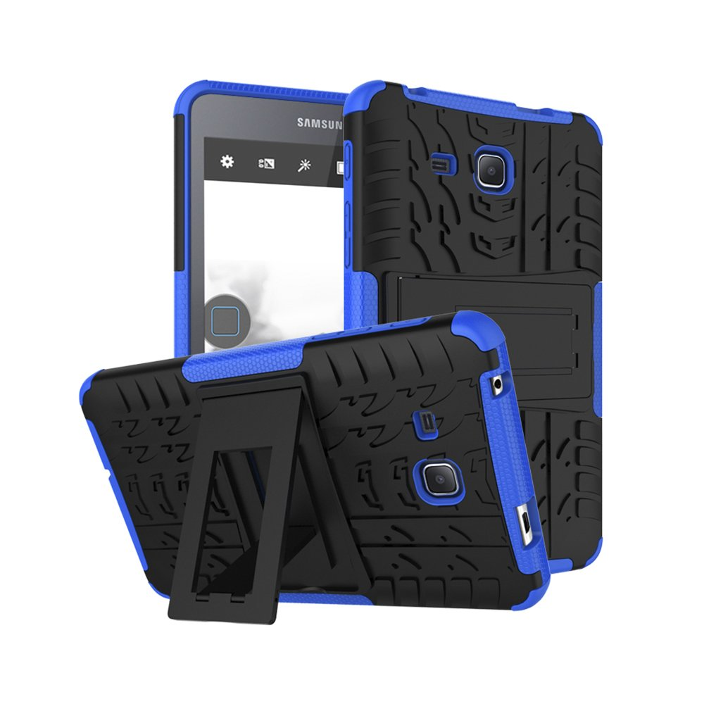 low priced 37663 d58b6 New Armor Coque for Samsung A6 7.0 T280 Case TPU+PC Cover For Samsung  Galaxy Tab A6 7.0 SM-T280 SM-T285 Shockproof Tablet Case (Blue)
