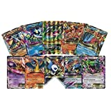 5 Oversized Jumbo EX Promo Pokemon Cards! No Duplicates! Includes 5 Jumbo Toploader