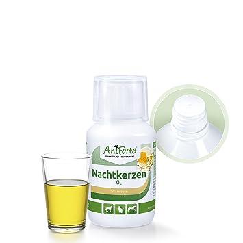 AniForte natural Aceite de onagra 100 kle Naturprodukt para perro, Gatos y Caballos