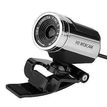 Vbestlife USB2.0 Cámara para Escritorio PC de Alta Definición Imagen HD Web CAM Digital Microscopio LED Luz para Computadora Portátil Negro: Amazon.es: ...