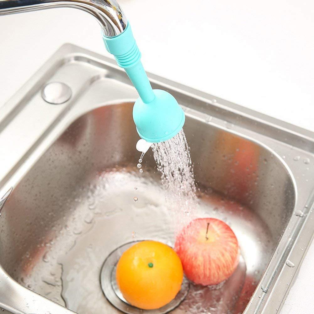 durable et utile Ogquaton /Adaptateur de r/égulateur d/économie deau pour robinet de cuisine universel pour filtre anti-/éclaboussure Violet court