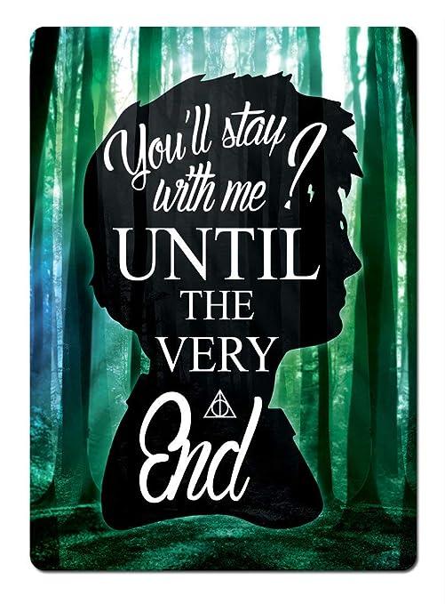 Kia Haop Harry Potter Until The End Trees Metal Fender ...