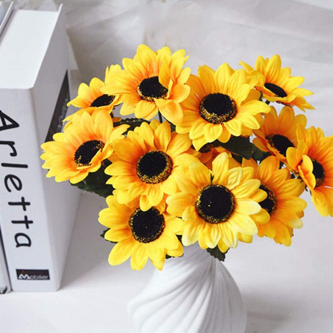 QHB 造花 ジプソフィラ 造花 フェイクシルク 結婚式 パーティー ブーケ ホームインテリア 造花 ウェディングブーケ パーティー装飾 B07GDMKQ2K