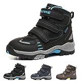 流行の子供靴 暖かく保つ ブーツ キッズ 快適で通気性のある トレッキングシューズ 滑り止め ジュニアシューズ ASHION 耐久性のある 登山靴 ファッション キッズ 雪靴防水プラットフォーム