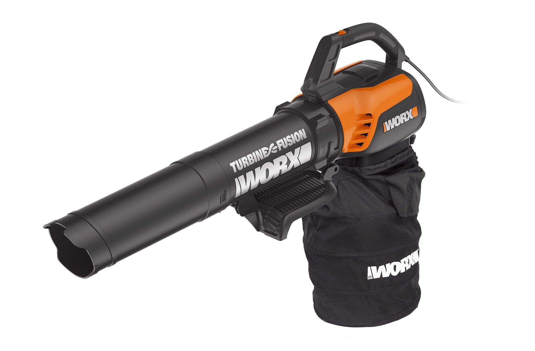 WORX WG510 TURBINEFusion 12 Amp Electric Leaf Blower/Mulcher/Vacuum by WORX