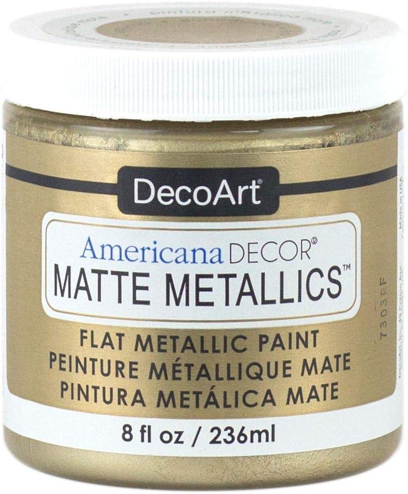 Deco Art Americana Decor Matte 8OZ Champage Craft Paint