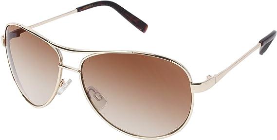 Jessica Simpson J106 Metal Aviator Sunglasses with 100% UV Protection