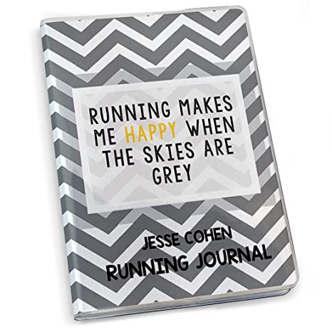 Amazon.com : Running Makes Me Happy Running Journal | Paper ...
