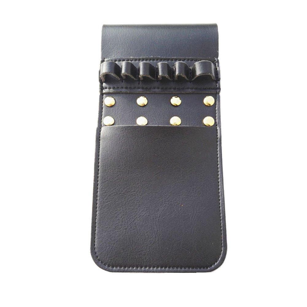 Tiro al arco Quiver de flecha de bolsillo Carcajes Soporte para 6 piezas flechas de disparo (negro) AME Tiro con arco Factory