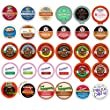 Seasonal Fall and Winter Flavored Coffee,Tea, Cider, Cappuccino and Hot Cocoa, Single Serve Cups For Keurig K Cup Brewers Variety Pack Sampler, 30 Ct