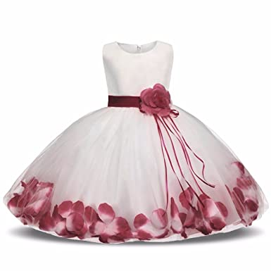 b97f21387b649 Amazon.com  Ai Meng Baby Girl Christening Gown  Clothing