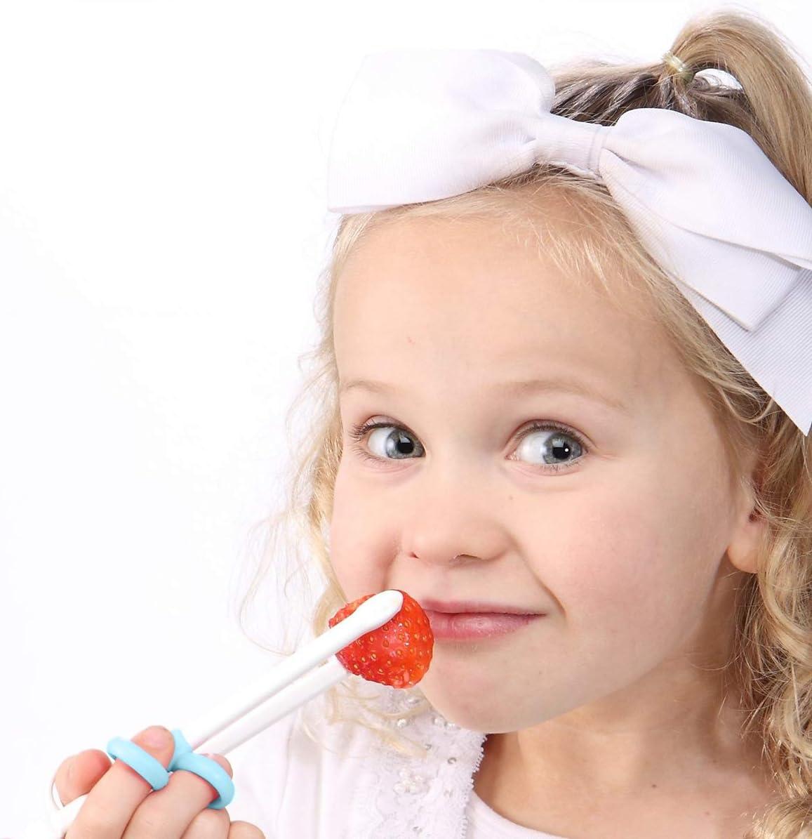 bleu ciel Artibetter Baguettes dapprentissage Apprentissage des baguettes Baguettes dentra/înement Eatting pour enfants