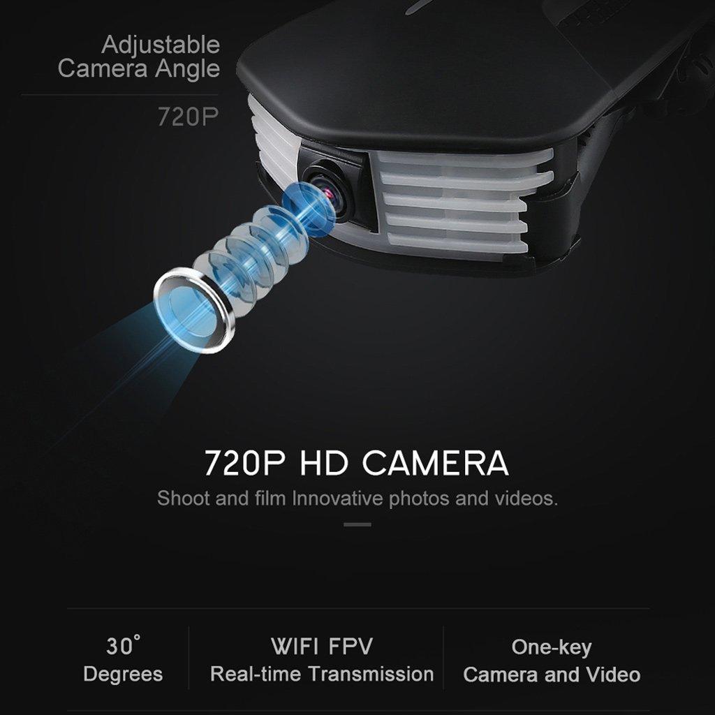 Cold Toy jjrc h37 Mini 4 CH 6 ejes WiFi FPV Drone RC Selfie Quadcopter Cámara plegable: Amazon.es