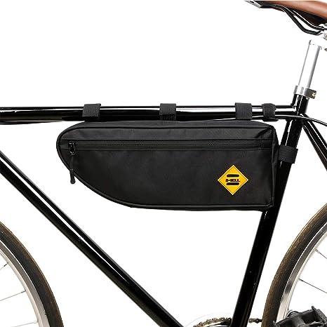 Zdmathe Bolsas de Bicicleta Tubo Superior Bolsa de Cuadro ...