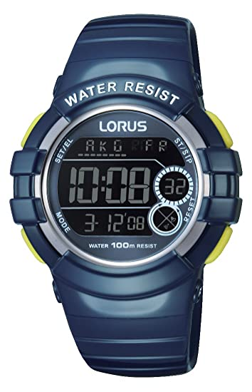 Relojes Lorus its_amaz-reloj deportivo digital de cuarzo caucho R2315KX9