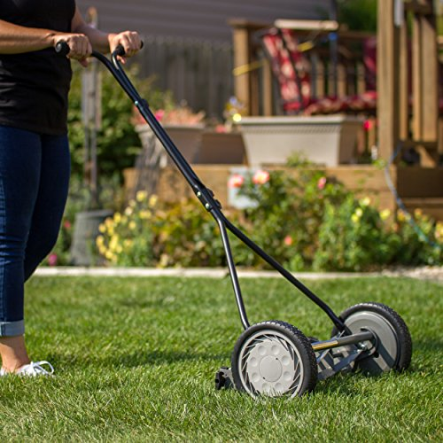 Great States 415-16 Lawn Mower, 16-Inch, 5-Blade, Silver