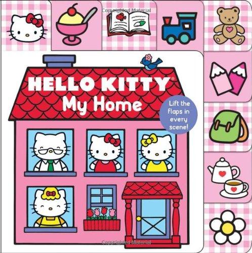 Hello Kitty Lift Flap Books