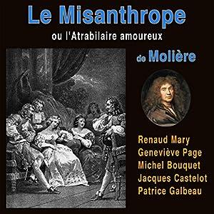 Le misanthrope ou L'atrabilaire amoureux Discours