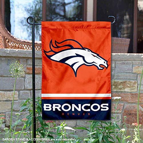 WinCraft Denver Broncos Double Sided Garden -