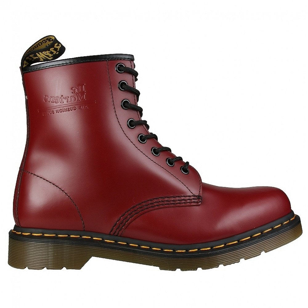 Dr. Martens 1460 Smooth Botas cherry red 6 UK|Cherry Red