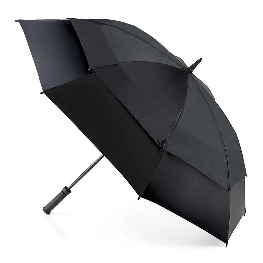 フルトン FULTON ストームシールド 強風 傘 長傘 正規品証明タグ 英国王室御用達 メンズ かさ スポーツ 耐風 大きい S669 AC(ブラック Black) B00W15TT1Iブラック Black
