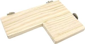 Alfie Pet - Charon Wood Platform for Mouse, Chinchilla, Rat, Gerbil and Dwarf Hamster