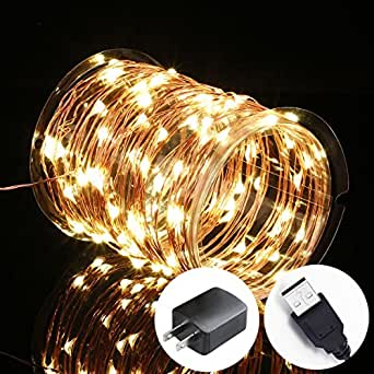 starry string lights bedroom innotree lights usb in 33ft 100 17414