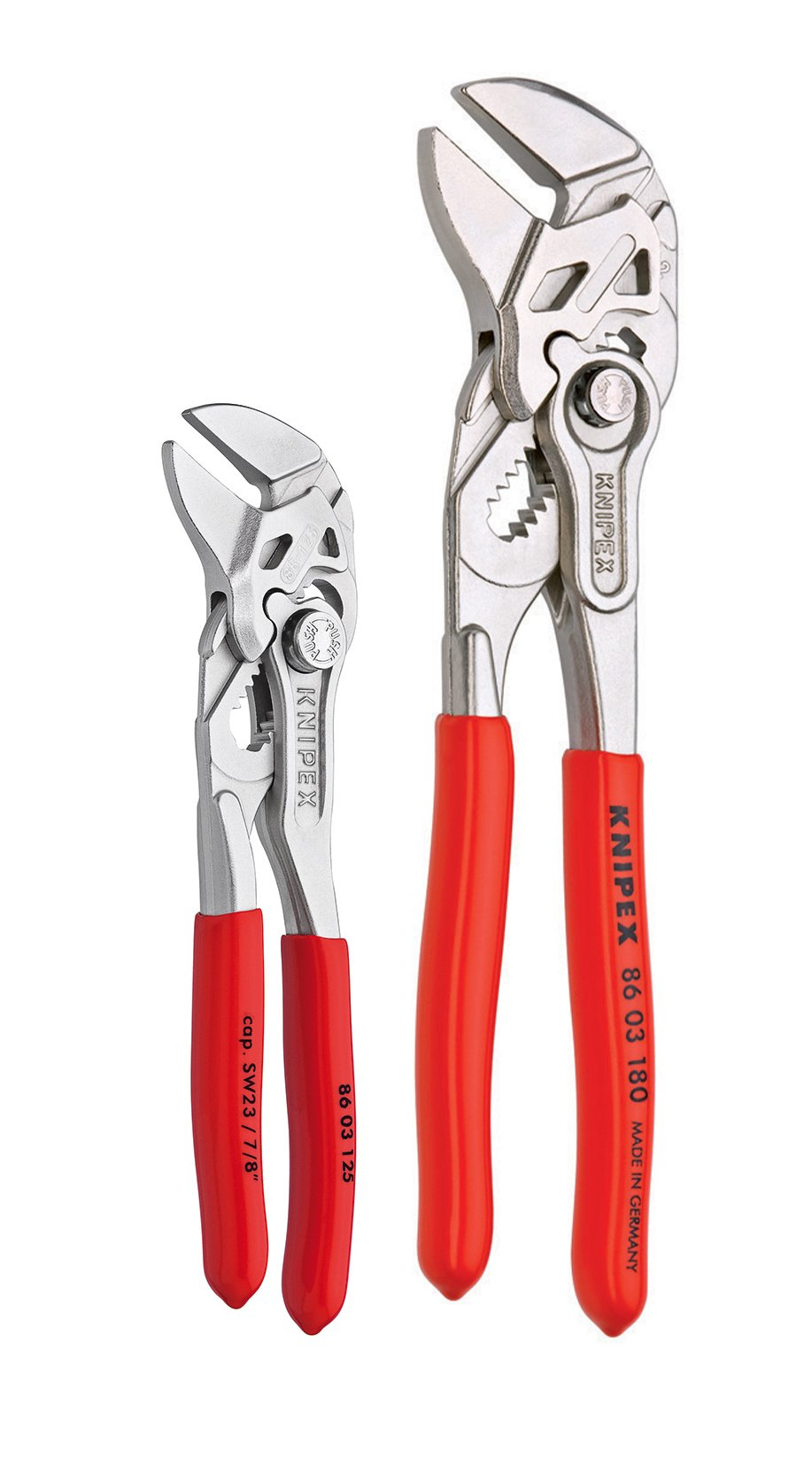 KNIPEX Tools 9K 00 80 121 US Small Pliers Wrench Tool Set (2 Piece) by KNIPEX Tools