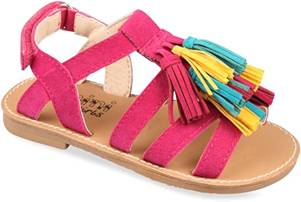 NINI & GIRLS Nu Pieds Rose Fille Chaussea: