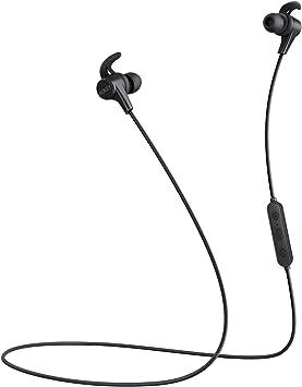 Aukey Ecouteur Bluetooth Avec Aptx Et 3 Modes Eq Resistantes à L Eau Oreillette Magnétiques Avec Une Housse De Protection Pour Apple Watch Iphone Samsung Amazon Echo Dot Etc Amazon Fr High Tech