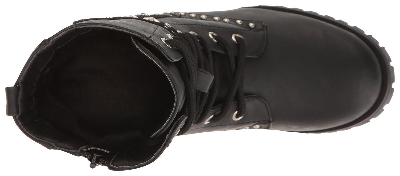 Gia Mia Kids Big Girls Star Studded Combat Boot Gia-Mia Dancewear GS7C