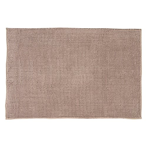 DIFFERNZ 31.220.08Candore Bath Mat, Taupe by Differnz