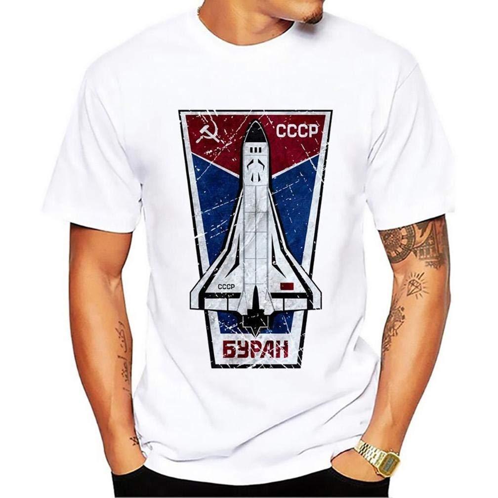 Esplorae Dello Spazio Unione Sovietica Cccp Yuri Gagarin 11 S T Shirt Printing Short Slee