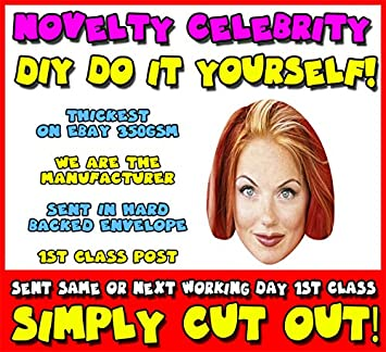 Diy do it yourself face mask spice girl geri halliwell celebrity diy do it yourself face mask spice girl geri halliwell celebrity face mask solutioingenieria Images