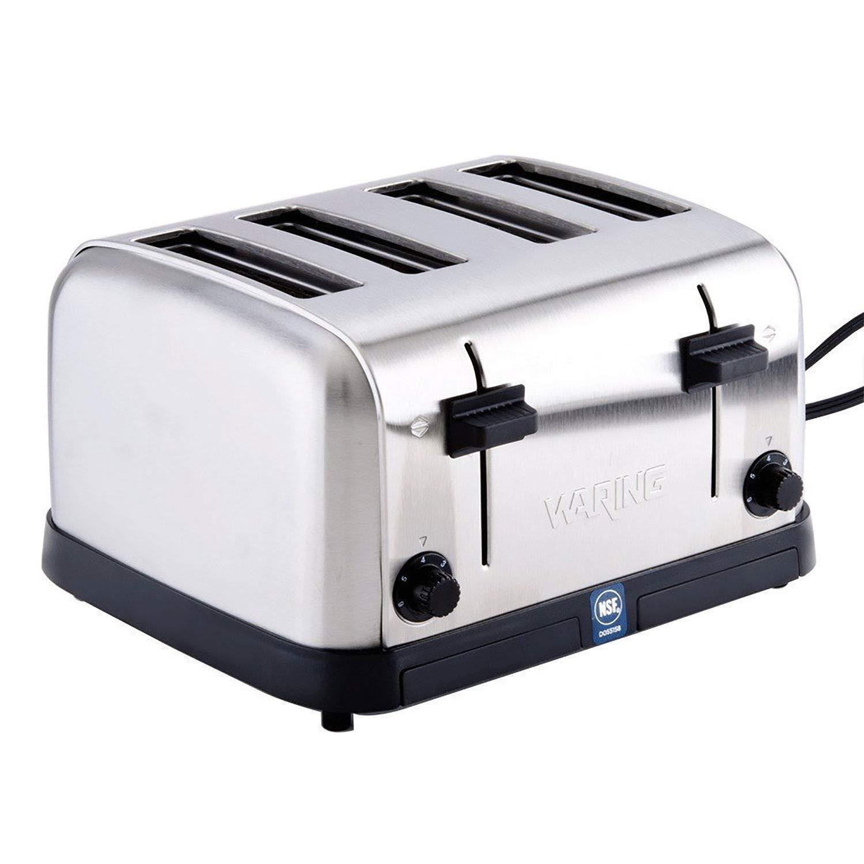 Waring WCT708 - Toaster 4 Slot, 120V, Lot of 1