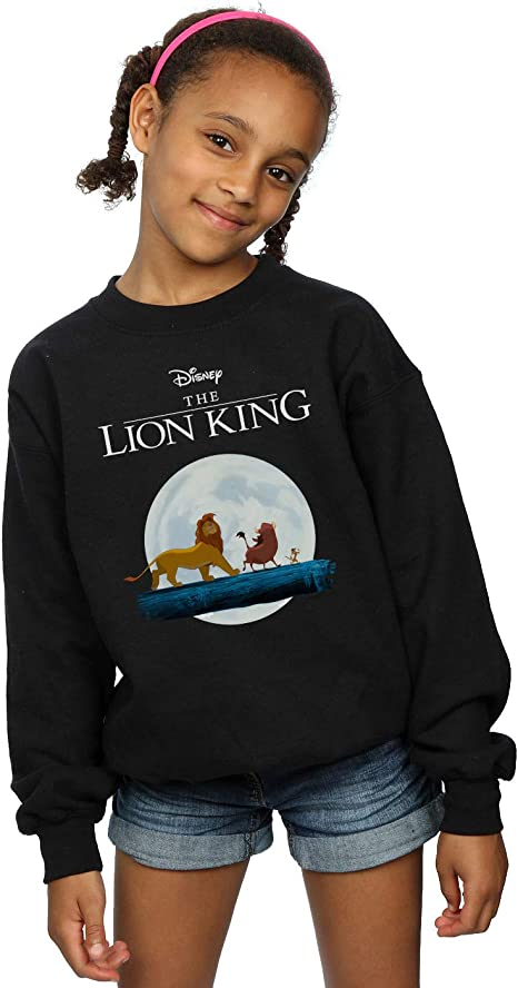 Disney Girls The Lion King Mufasa and Simba Sweatshirt