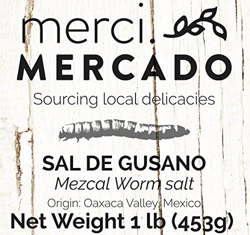 Sal de gusano - Gourmet edible worm salt from Oaxaca Mexico (1lb) by Merci Mercado (Image #4)