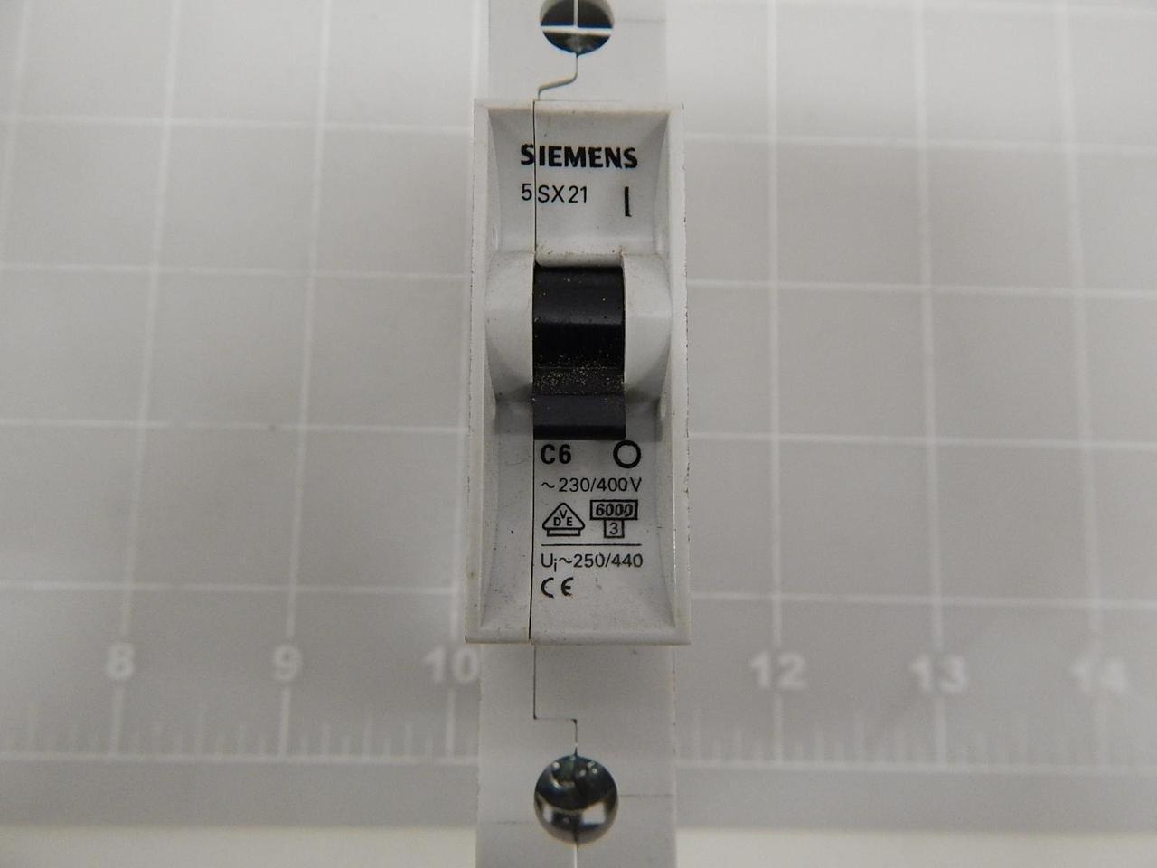 Schutzschalter-Zubehör Siemens 5SH1112