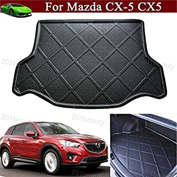 Vesul Rubber Rear Trunk Cover Cargo Liner Trunk Tray Carpet Floor Mat Fits on Ford Fusion 2013 2014 2015 2016 2017 2018 2019