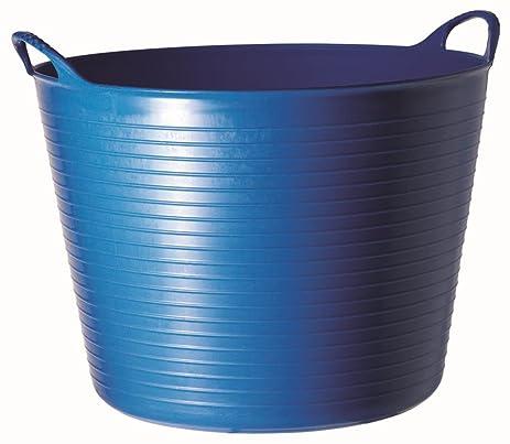 Amazon.com: TubTrug SP26BL Medium Blue Flex Tub, 26 Liter: Garden ...